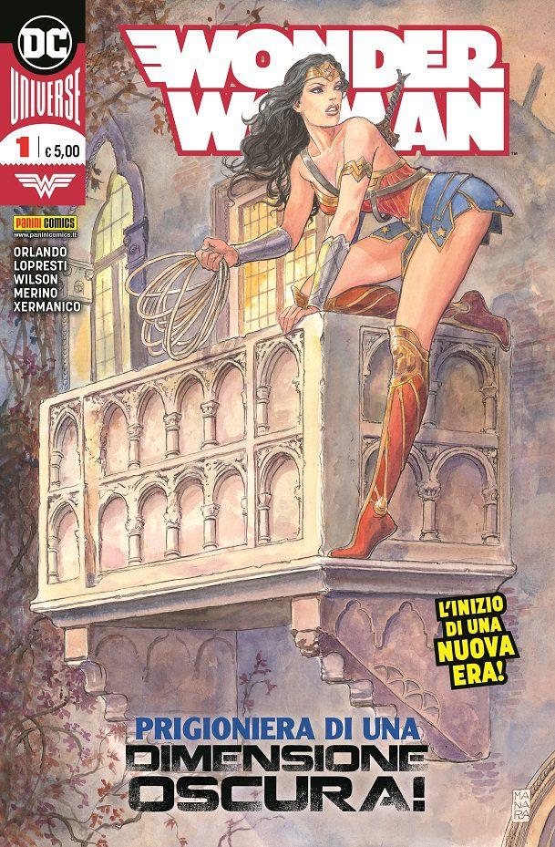 DC Comics a cura di Panini Comics: la nuova era dei fumetti inizia con Wonder Woman di Milo Manara