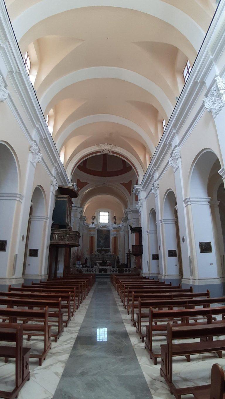 Cerreto Sannita, all'interno della Chiesa di San Martino Vescovo