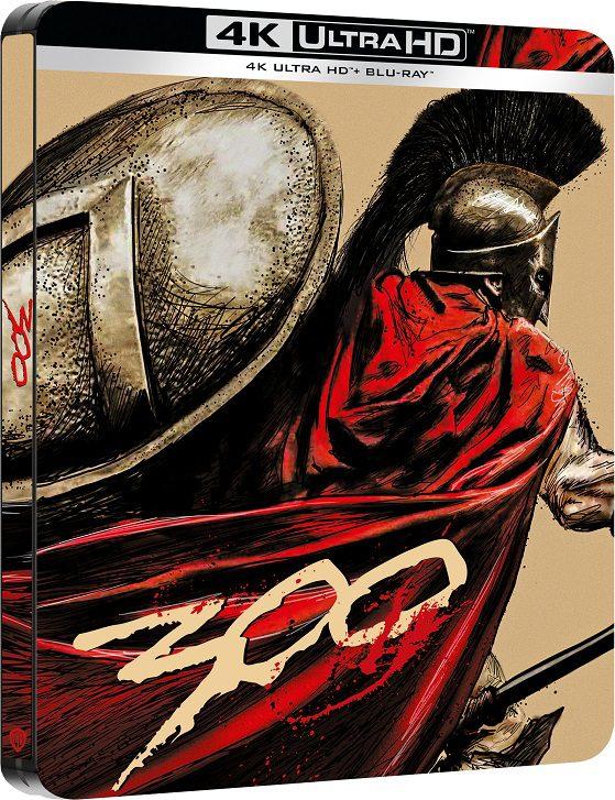 300 - Dall'8 ottobre in 4K UHD Steelbook Edition