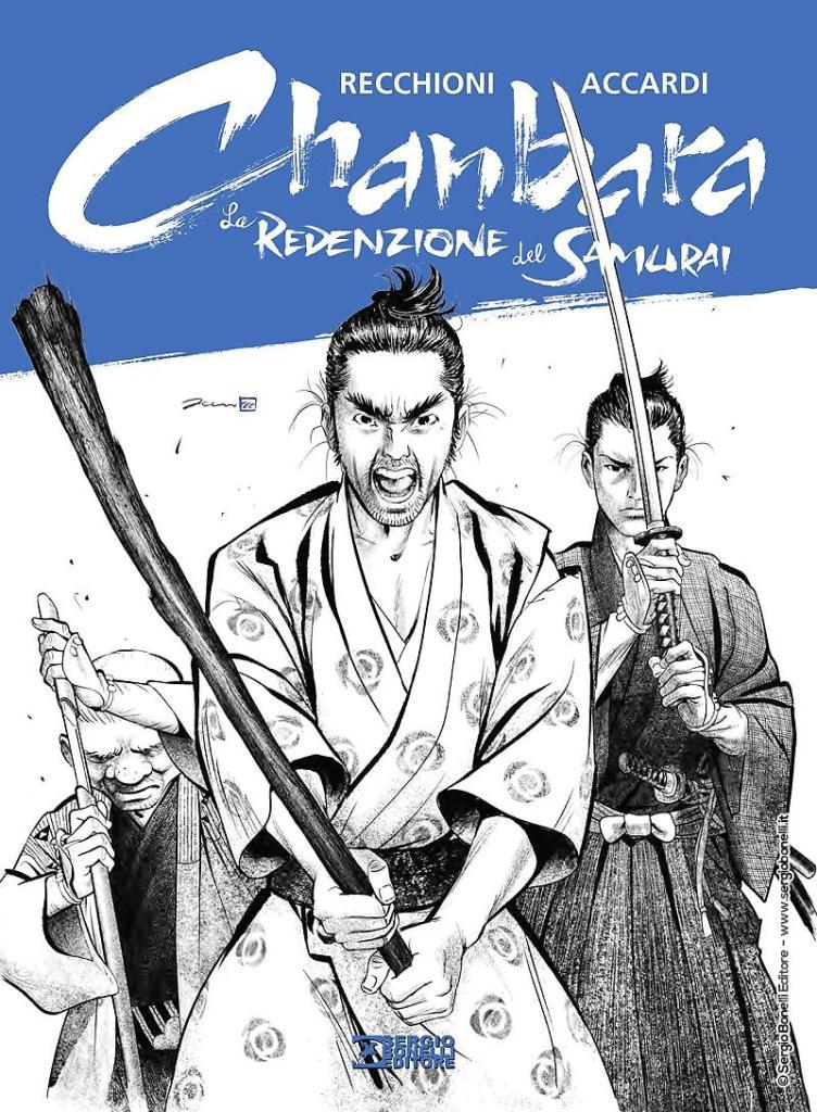 Chanbara La redenzione del Samurai cover