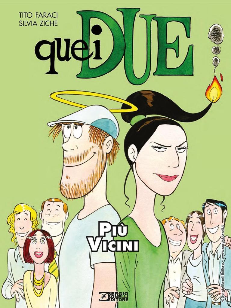 """""""Quei due. Più vicini"""", prosegue il racconto agrodolce di Tito Faraci e Silvia Ziche"""