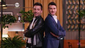 Damiano Carrara e Gino D'Acampo tornano su Food Network con Fuori Menù anche su Real Time