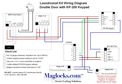 small resolution of mag lock wiring diagram