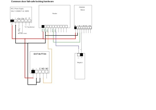 small resolution of  wiring diagram common door kit for hotels electric strike locking hardware fail safe