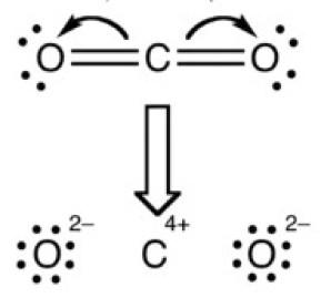 تفاعل تشكيل غاز ثاني أوكسيد الكربون