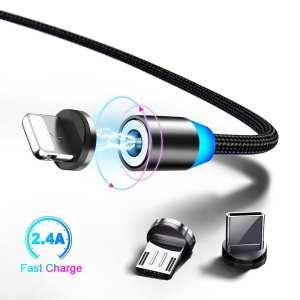 cable magnetique 3 en 1
