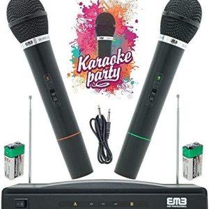 Performances du système de microphone sans fil professionnel Max MX-306