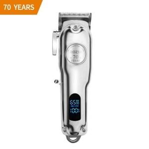 Rozia HQ 2208  Tondeuse à cheveux électrique rechargeable professionnelle, numérique et réglable, LCD, 70 ans, Rechargeable, 2020, Model USA