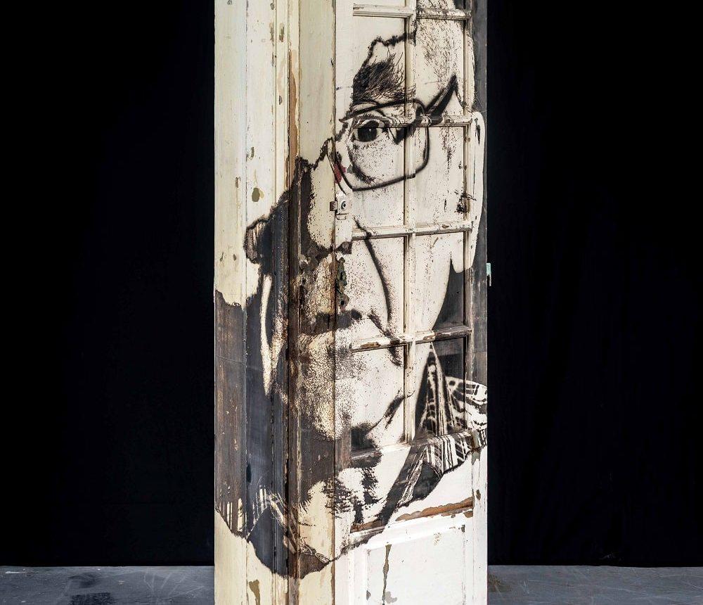 Portal #20 Vhils sculpture solo show Magma gallery