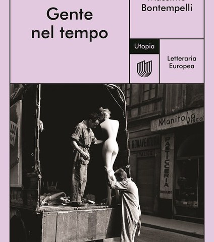 La copertina di Gente nel tempo di Massimo Bontempelli.