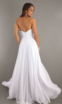 20 Beautiful White Prom Dresses - MagMent