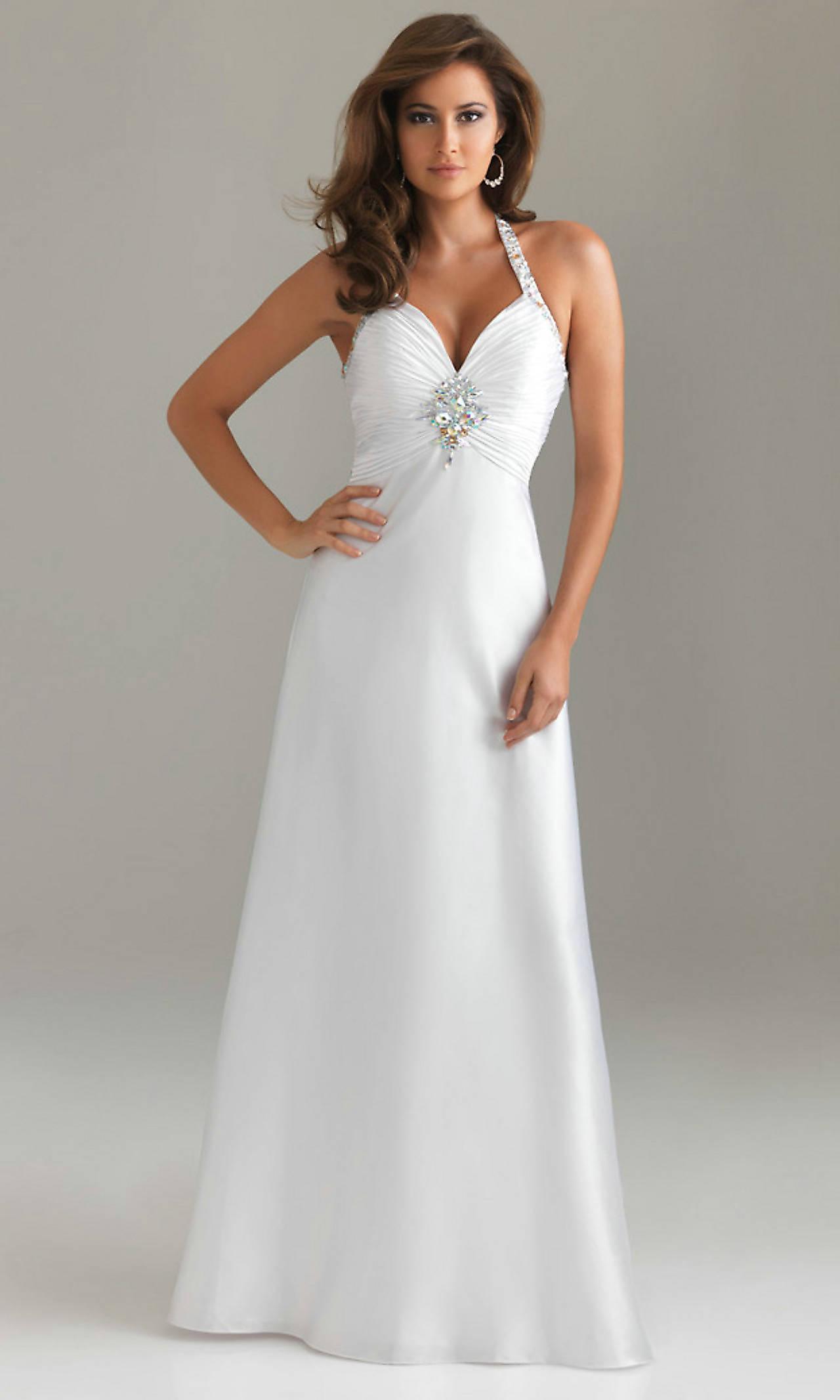 20 Beautiful White Prom Dresses