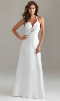 20 Beautiful White Prom Dresses - MagMent