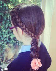hairstyles school quick