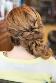 easy updo hairstyles long
