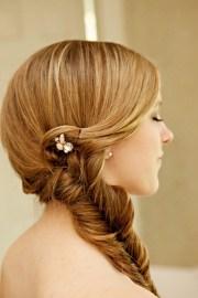 beautiful rustic wedding hairstyles