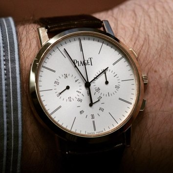 Piaget Altiplano Flyback Chronograph vu par professionalwatches