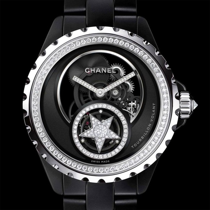 Chanel J12 Tourbillon Volant Squelette – Baselworld 2015