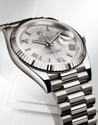 Rolex Day-Date 40 en or gris - Baselworld 2015