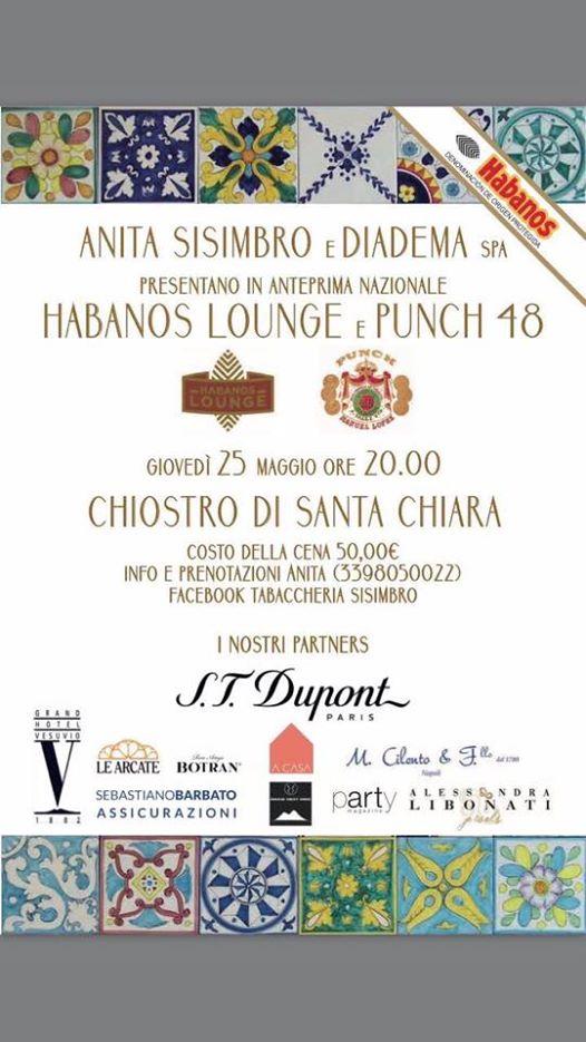 Tabaccheria Sisimbro crea la  Habanos Lounge italiana