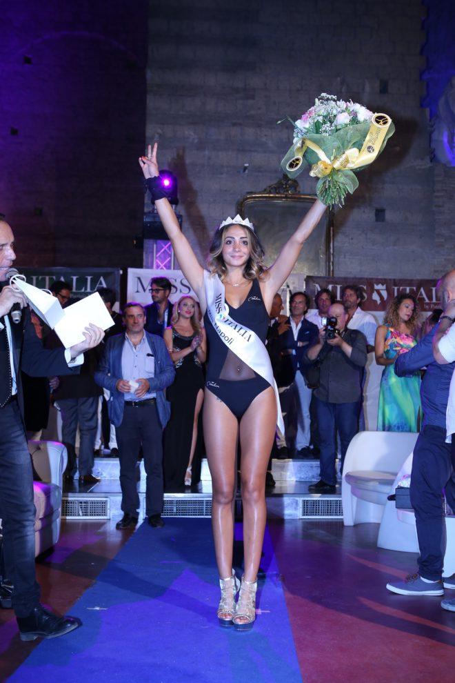 Miss Italia: ecco Miss Napoli.  ANTONELLA CARUSO  vince la finale regionale