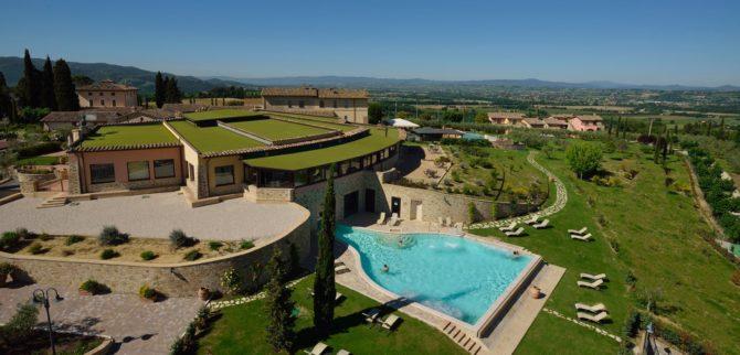 BORGO BRUFA RESORT, la spa per ricaricare le energie nel cuore dell'Umbria