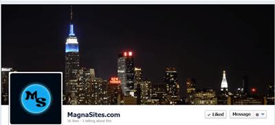 magnasites facebook page header