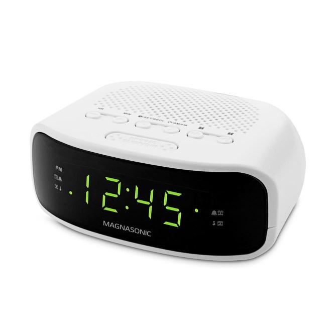 Eaac201 Digital Am Fm Clock Radio With