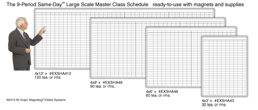 Same-Day™ 9-Period Large Scale Schedule