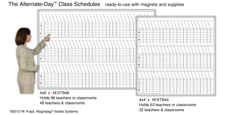 Alternate-Day 4-Block Class Schedules