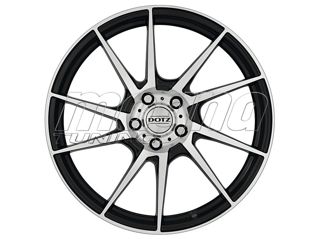 Dotz Kendo Black Polished Wheel