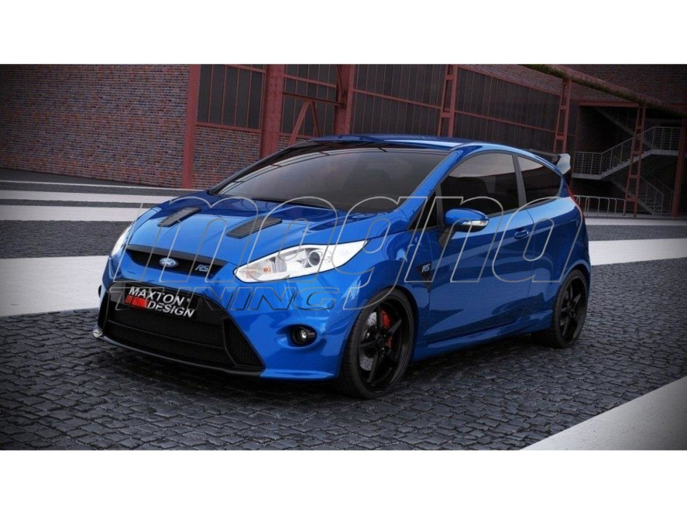 medium resolution of ford fiesta mk7 facelift rs look front bumper picture 33983 jpg