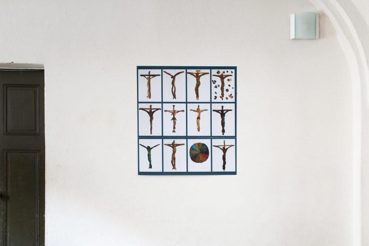 Ursula Sax, Kruzifixe, 2019, Paul-Gerhardt-Kirche, Berlin-Prenzlauer Berg