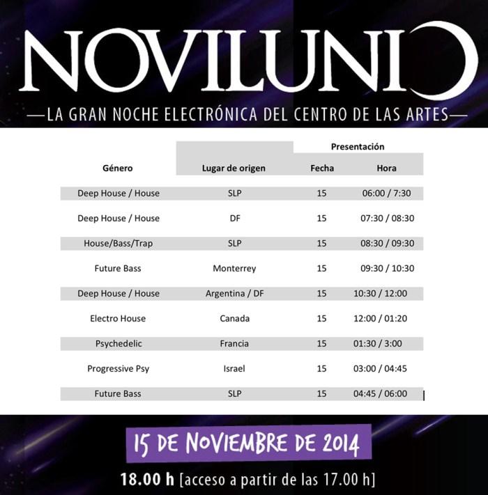 NOVILUNIO-2014-programa