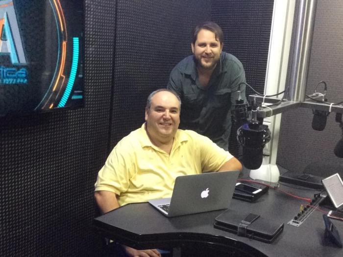 Pastor Luis y Mingo d'Argence de la Iglesia Amistad Potosina AC