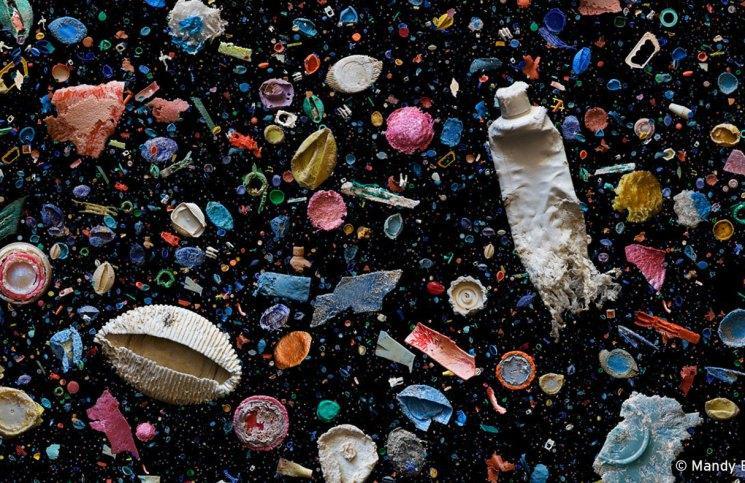 Contaminación en el Pacífico