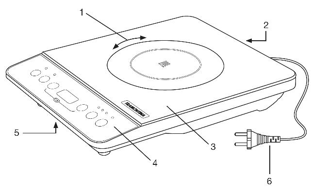 Tramontina Induction Cooktop Manual