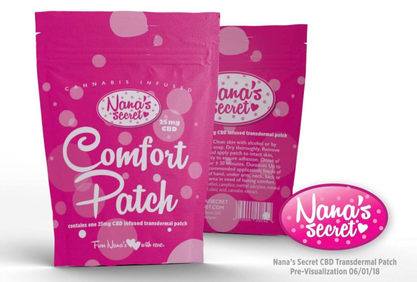 Nana's Secret CBD Patch