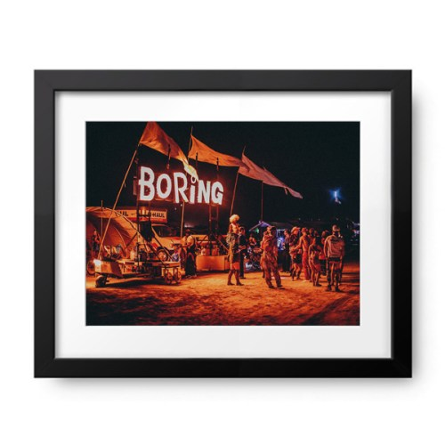 Burning Man Boring