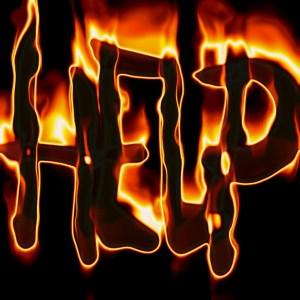 Brûlure au secours