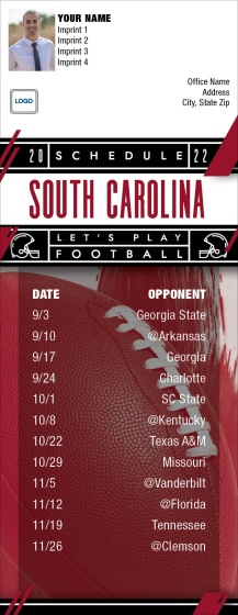 Shop South Carolina Gamecocks Football Schedule Magnets