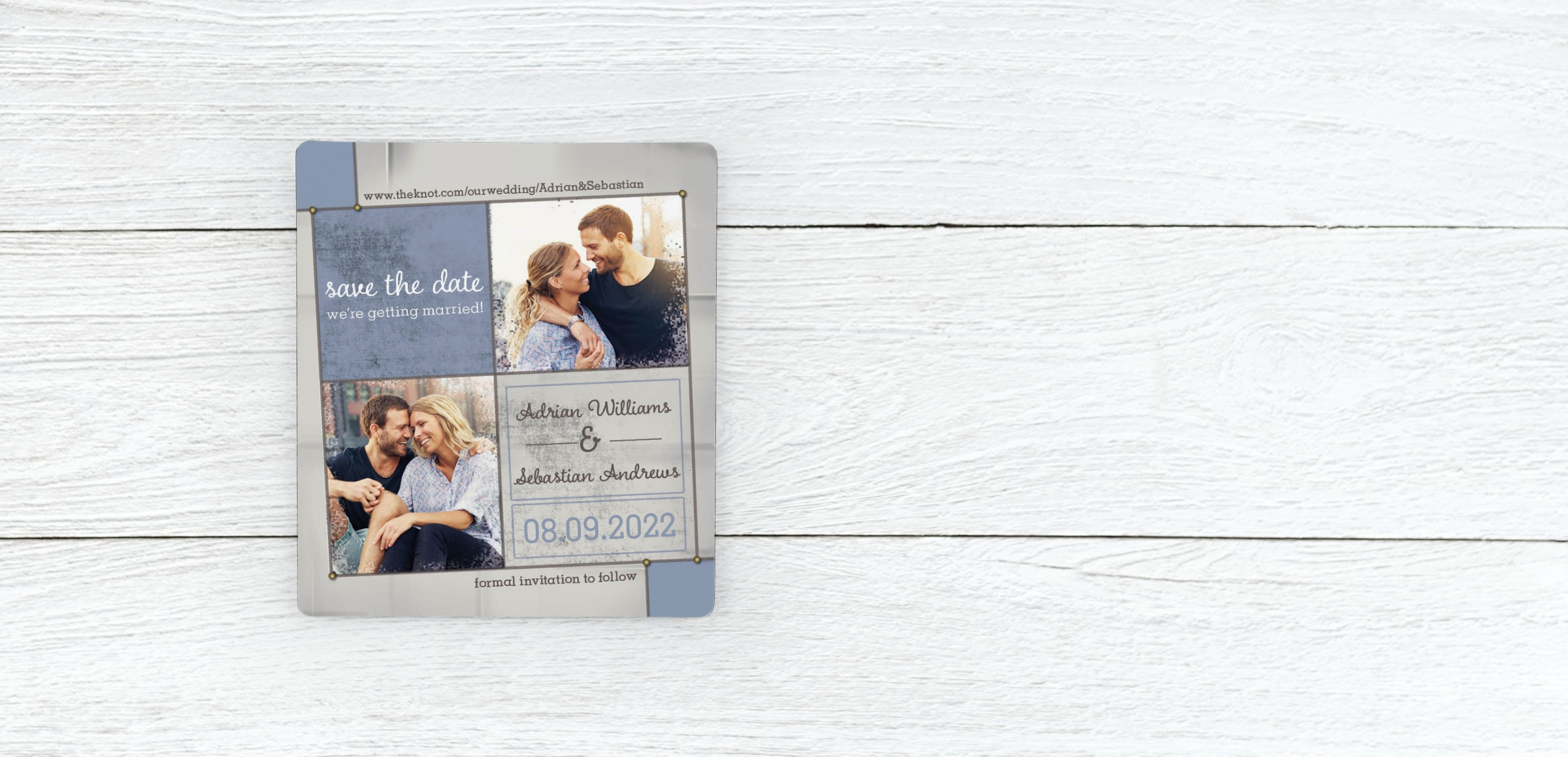 Save Date Magnets - Sweet Love Magnetstreet