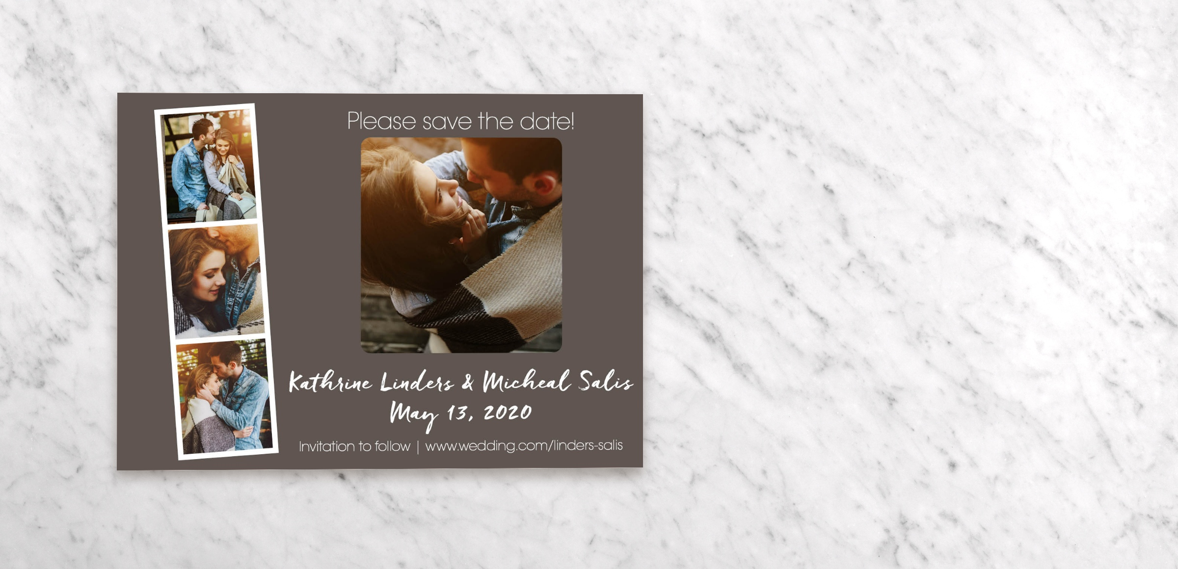 Save Date Postcards - Booth Magnetstreet
