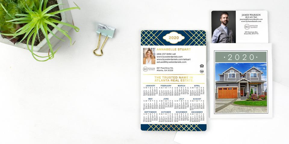 2020 magnetic calendars custom