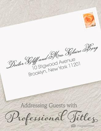 Creative Ways To Address Wedding Invitations Source Addressing Etiquette Frenchkitten Net