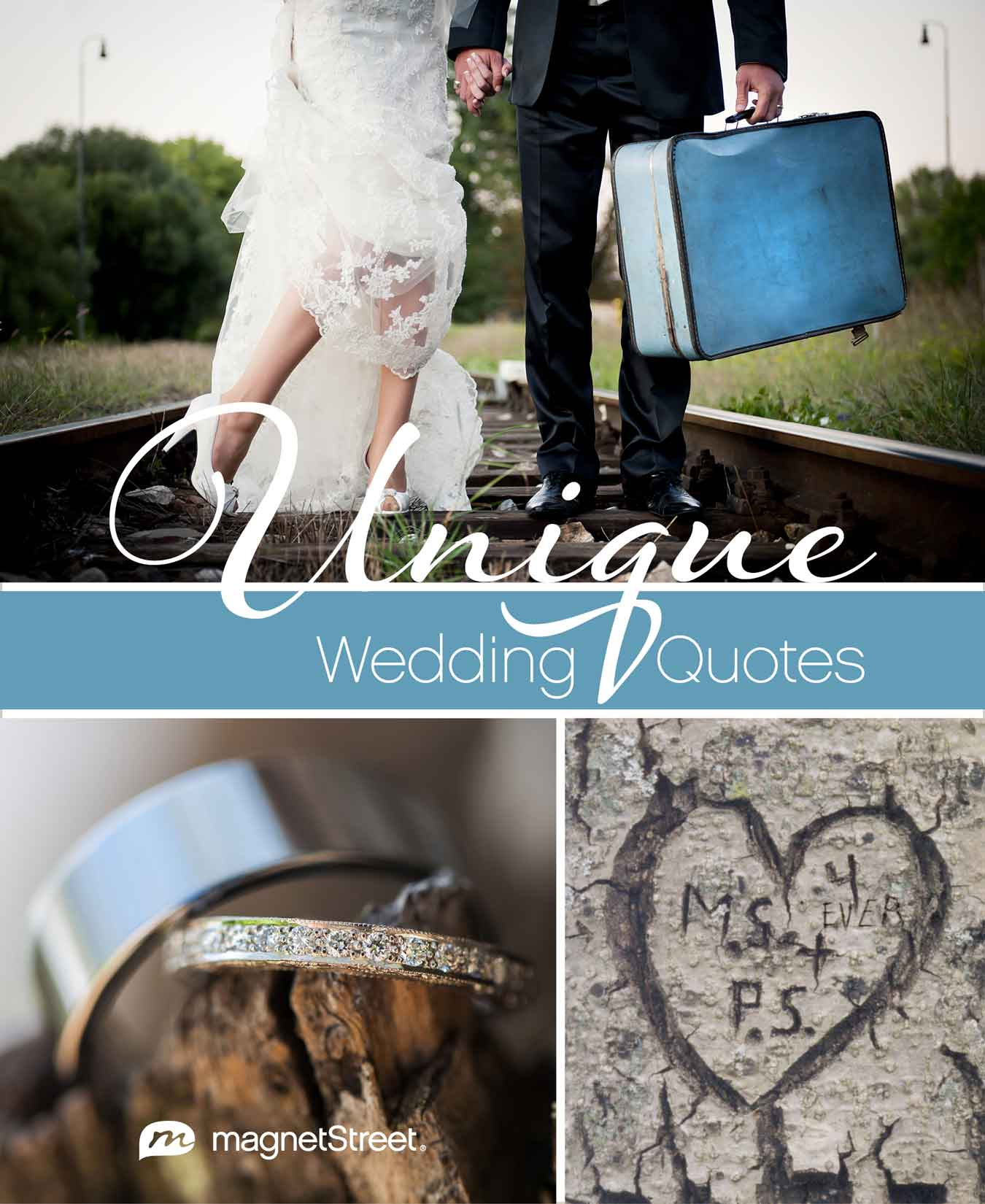 Unique Wedding Quotes for your Wedding Invitation or Wedding Program  MagnetStreet Wedding