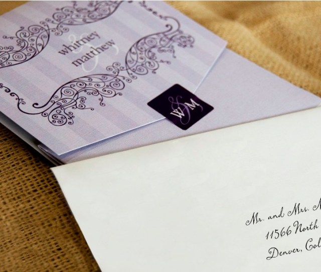 Addressing The Wedding Invitation With Etiquette How Many Envelopes Will