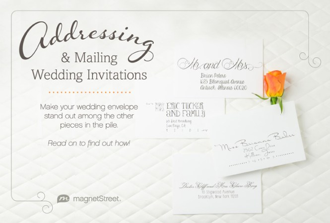 Get The Scoop Addressing Wedding Invitations