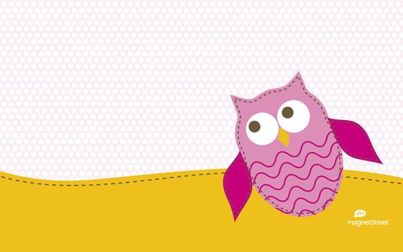 Cute Preppy Deskstop Wallpapers Freebie Friday Spring Owlfreebie Friday Spring Owl