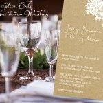 Wedding Invitation Date Wording